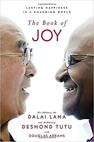 The Book of Joy by the Dalai Lama, Desmond Tutu, and Douglas Abrams, 2018-2019 CCBP featured book
